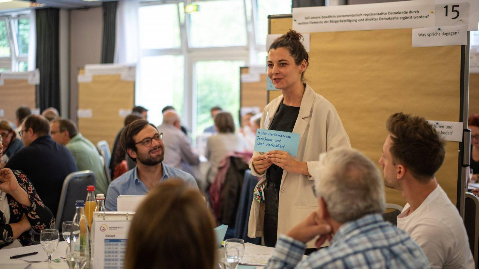 Bürger:innenversammlung in Leipzig